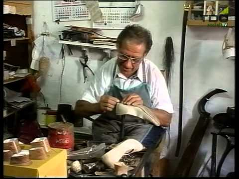 cobbler at his bench